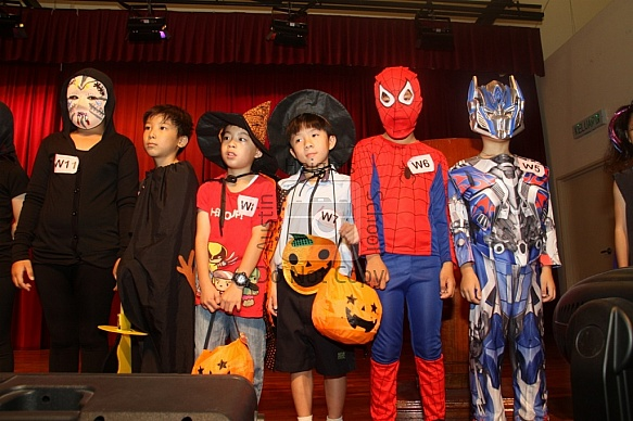 Year 3 - 11 Halloween Celebration